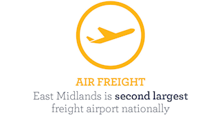 East Midlands is second largest freight airport nationally